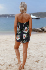 Year Long Summer Playsuit Navy - Lovecy - 6