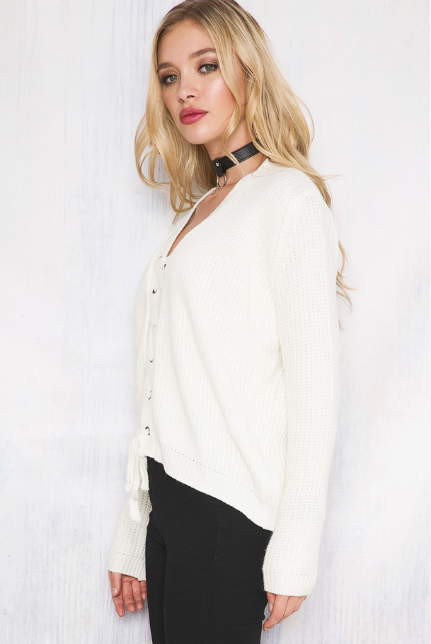 Cantina Knit White - Lovecy - 3
