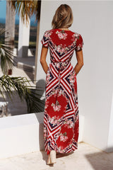 Tourist Attraction Maxi Dress