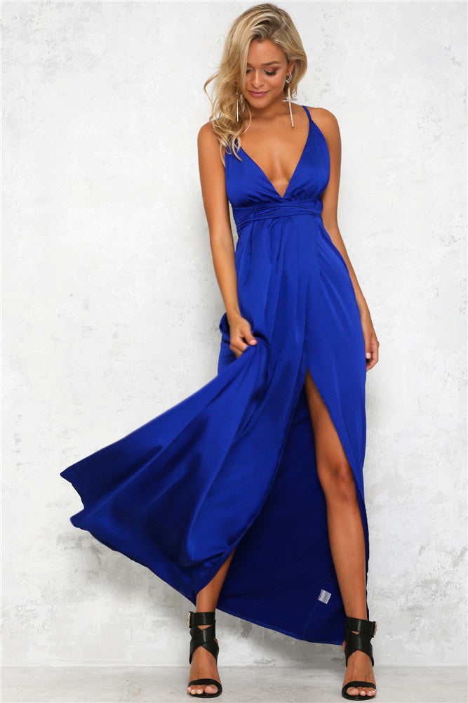 Heartline Dress - Cobalt Blue - Lovecy - 3