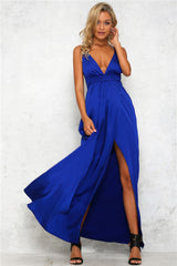 Heartline Dress - Cobalt Blue - Lovecy - 2