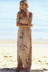 Inside Job Maxi Dress Mocha - Lovecy - 3