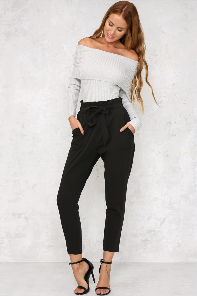 Chelsea Pants - Black - Lovecy - 2