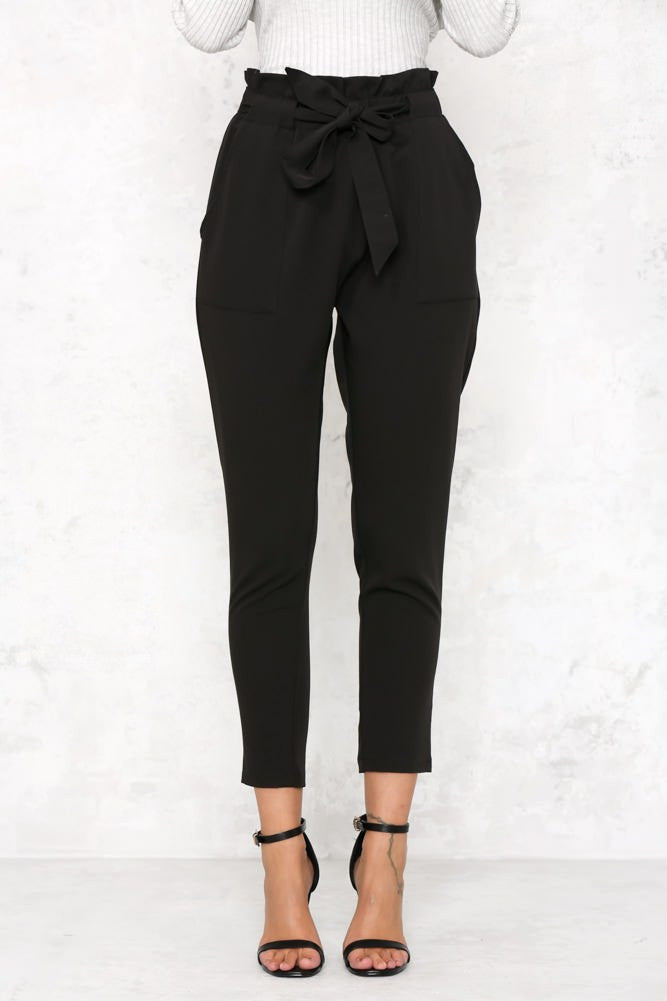 Chelsea Pants - Black - Lovecy - 5