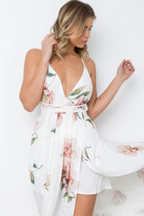 Flow Rider Maxi Dress - White