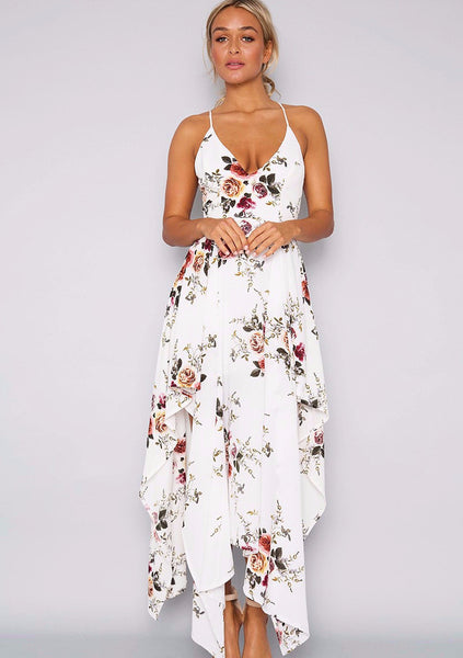 High Tea Maxi Dress - White