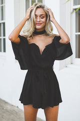 Like I Do Playsuit Black - Lovecy - 3