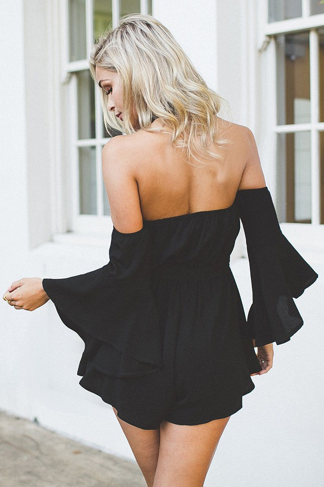 Like I Do Playsuit Black - Lovecy - 5