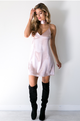 Kendall Slip Dress - Pink - Lovecy - 5