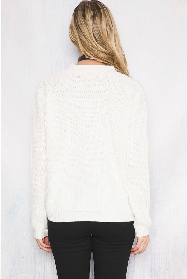 Cantina Knit White - Lovecy - 5
