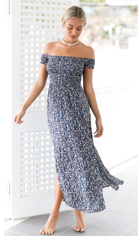 Serena Dress - Blue - Lovecy - 2