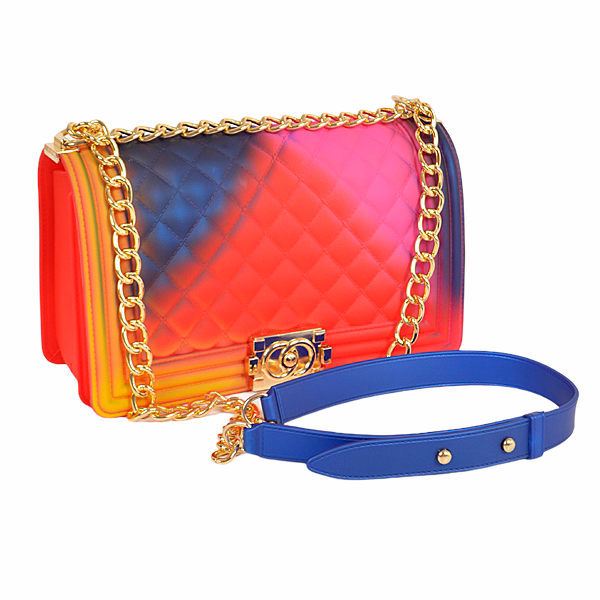 Multicolor Jelly Crossbody Bag