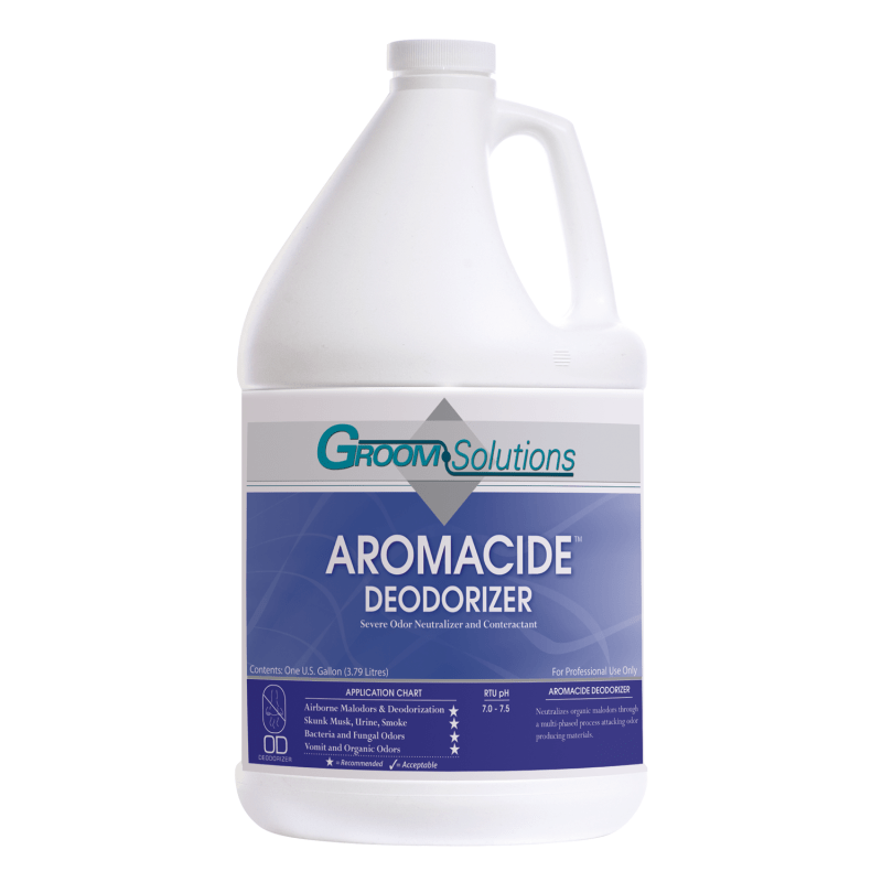 40% OFF LTD QTY | Groom Solutions, Odor Neutralizer, Aromacide, 1 Case