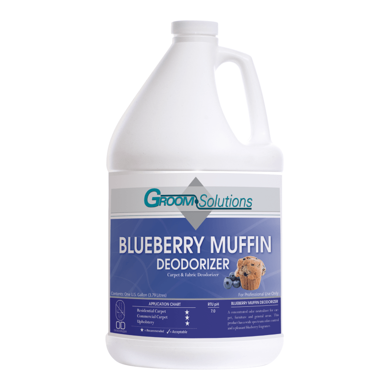 40% OFF LTD QTY | Groom Solutions, Deodorizer, Blueberry Muffin, 1 Case