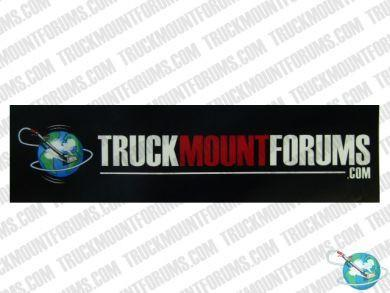 TMF Carpet Cleaning Bumper Sticker - TMF Store: Carpet Cleaning Equipment & Chemicals from TruckMountForums