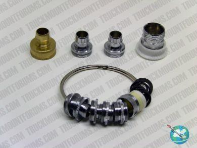 Carpet Cleaning Faucet Adapter Kit - TMF Store: Carpet Cleaning Equipment & Chemicals from TruckMountForums