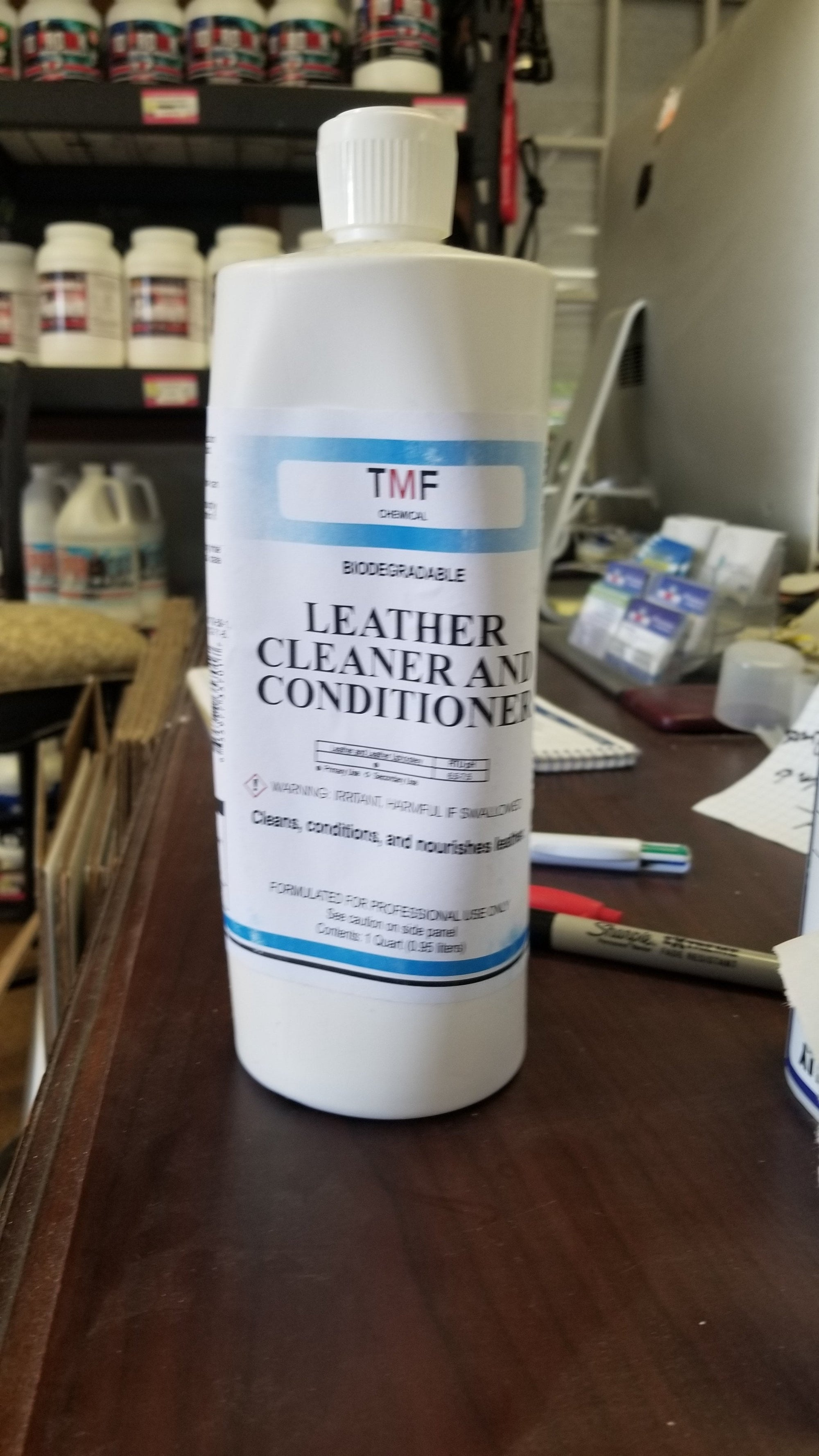 Leather Cleaner / Conditioner - TMF Store: Carpet Cleaning Equipment & Chemicals from TruckMountForums