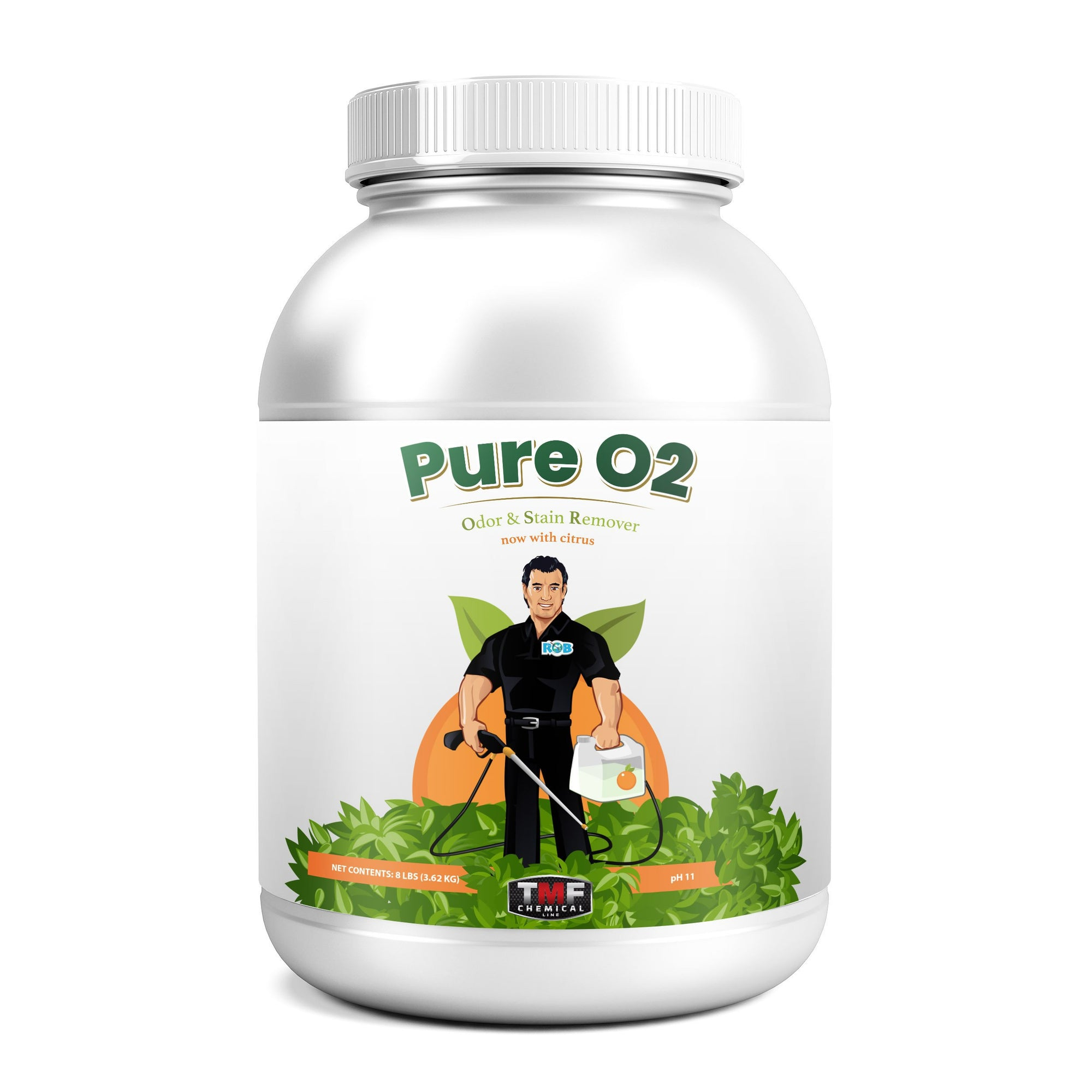 Pure O2, a professional concentrated Odor Stain Removal booster