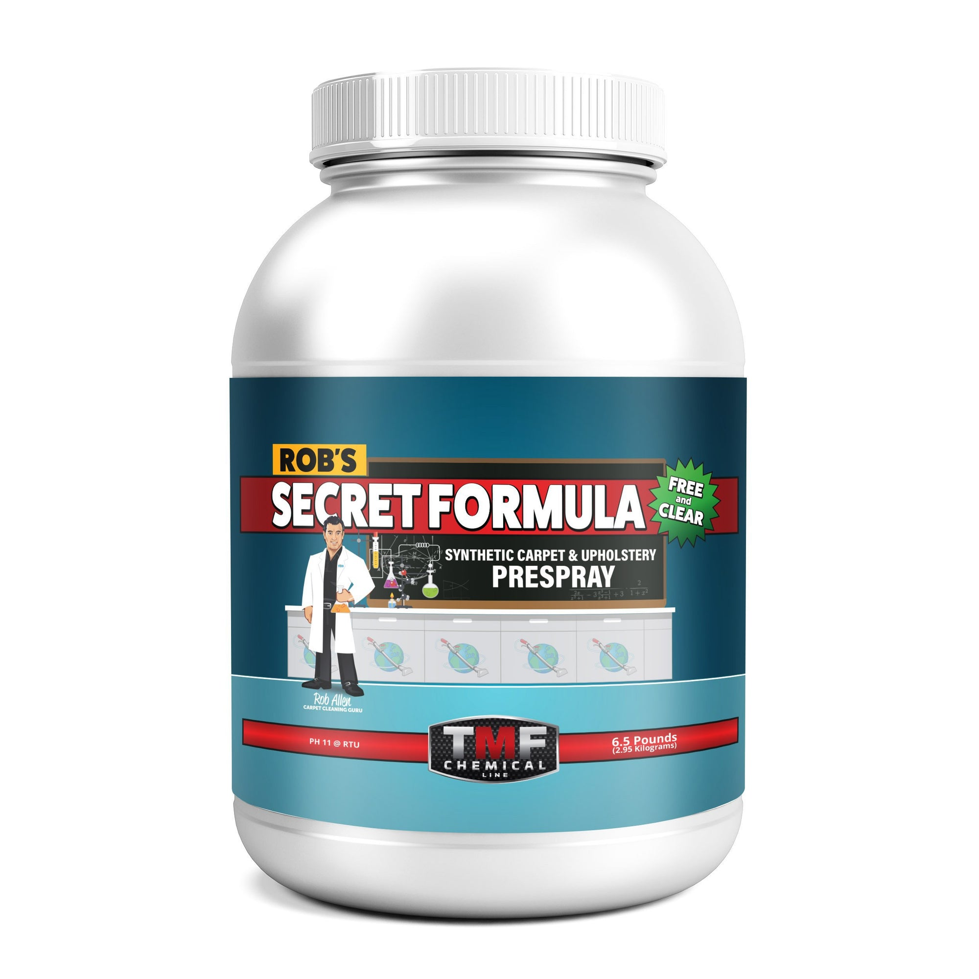 Robs Secret Formula Container (Free and Clear)