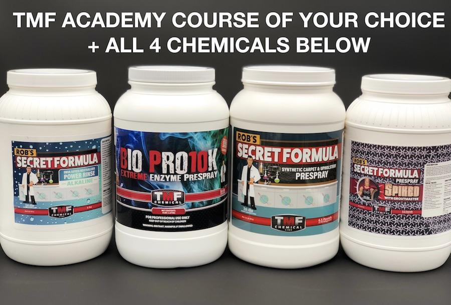 Chemicals & Training Combo *LIMITED OFFER* - TMF Store: Carpet Cleaning Equipment & Chemicals from TruckMountForums
