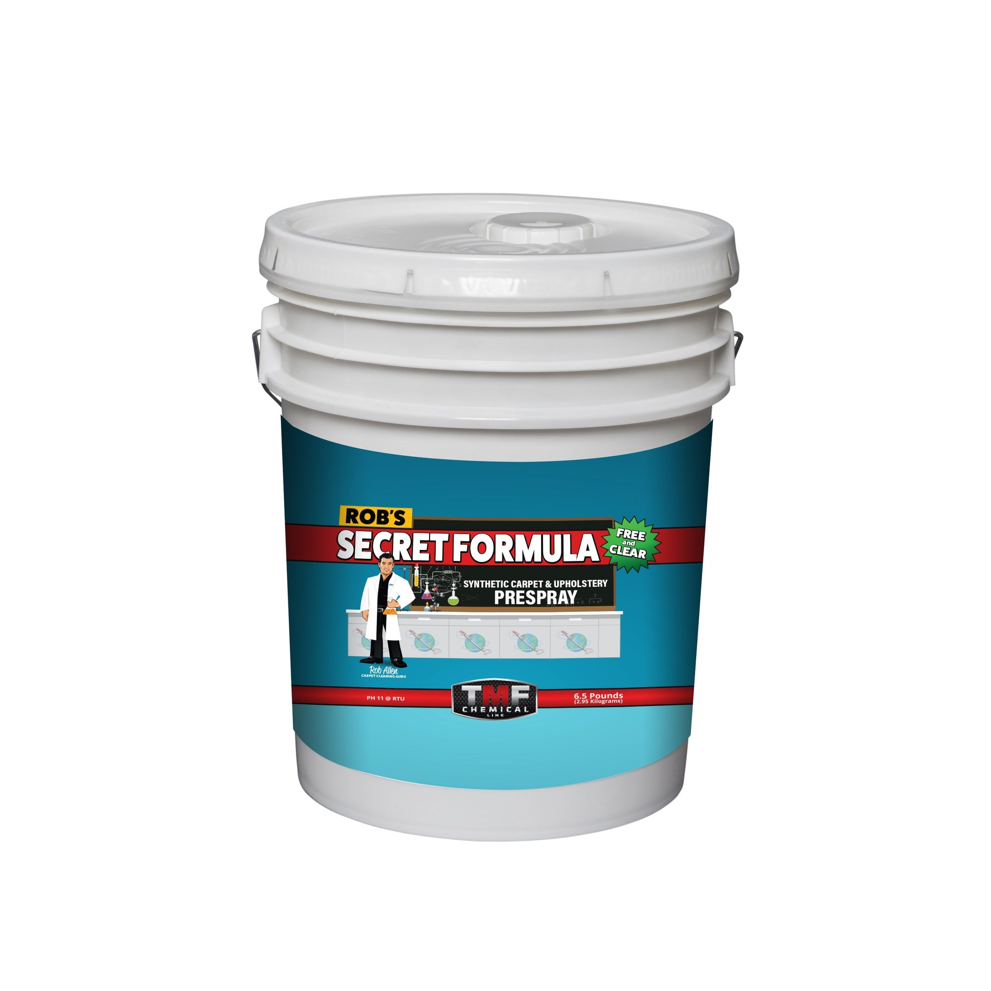 Rob's Secret Formula Free & Clear PAIL