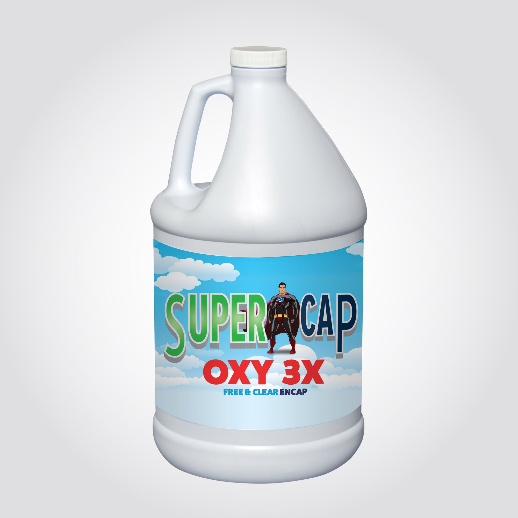 SuperCap Oxy X 3 Encapsulation Cleaner