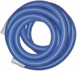 "Heavy Duty Vacuum Hose - 2"" x 50' - Blue - With Cuffs"
