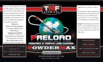 Preload 5 Powdermax Case - TMF Store: Carpet Cleaning Equipment & Chemicals from TruckMountForums