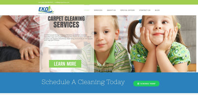 Web Design - Complete Website Package - TMF Store: Carpet Cleaning Equipment & Chemicals from TruckMountForums