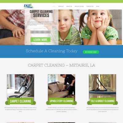 Web Design - Professional Website Package - TMF Store: Carpet Cleaning Equipment & Chemicals from TruckMountForums