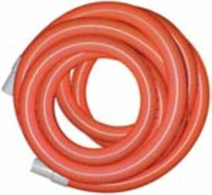 "Heavy Duty Vacuum Hose  2"" x 50' - Orange - With Cuffs"