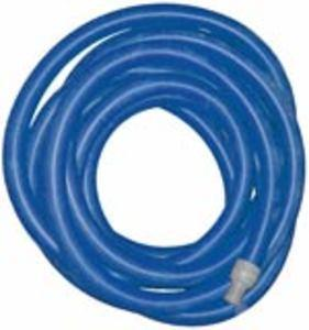 "Super Truckmount Vacuum Hose  2"" x 50' - Blue - With Cuffs"