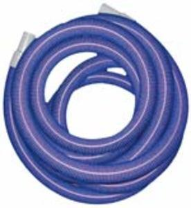 "Heavy Duty Vacuum Hose  1.5"" x 50' - Blue - With Cuffs"