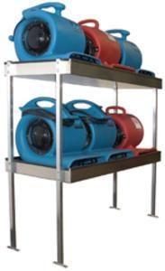 Air Mover Shelving - Aluminum - TMF Store: Carpet Cleaning Equipment & Chemicals from TruckMountForums