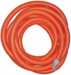 "Super Truckmount Vacuum Hose 2"" x 50' - Orange - With Cuffs"
