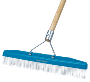 Carpet Rake by Grandi Groom - 18 in. - TMF Store: Carpet Cleaning Equipment & Chemicals from TruckMountForums