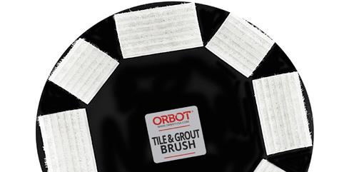 SLiM Tile & Grout Brush 11""