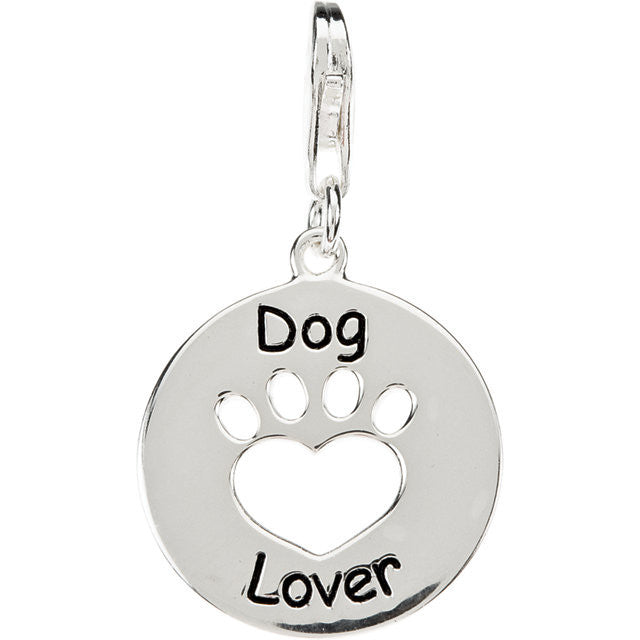 Dog Lover Charm W/Chain