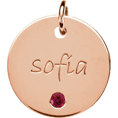 14K Gold Posh Mommy® Pendant