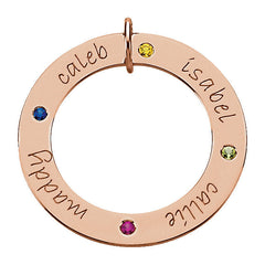 14K Gold Posh Mommy® Engravable Loop