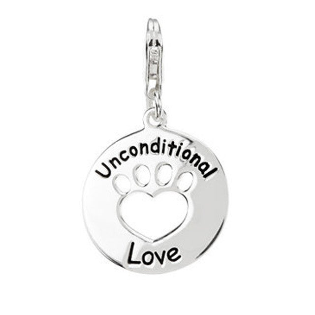 Unconditional Love Paw Charm