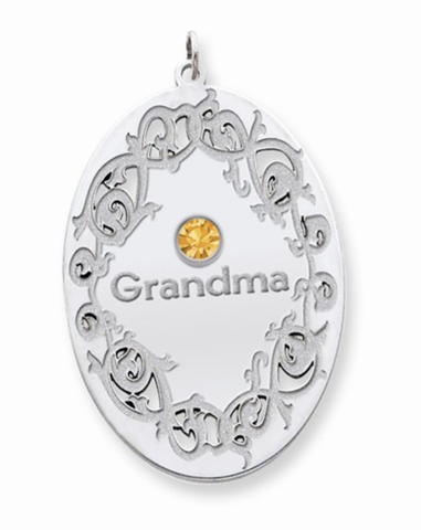 Crystal Family Pendant - 1 to 3 Gemstones