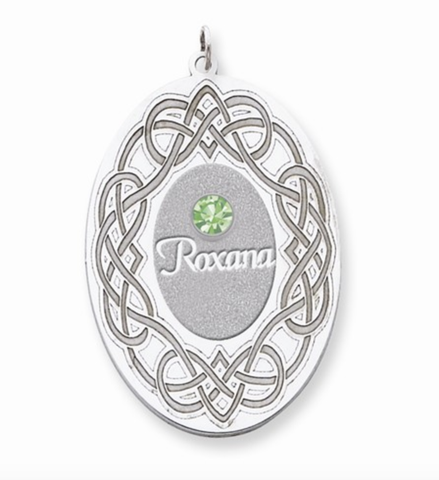 Family Pendant - 1 to 3 Gemstones