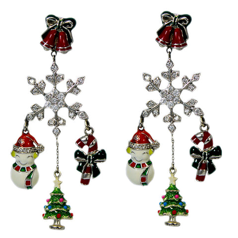 Handmade Sterling Silver Exclusive Holiday Earrings