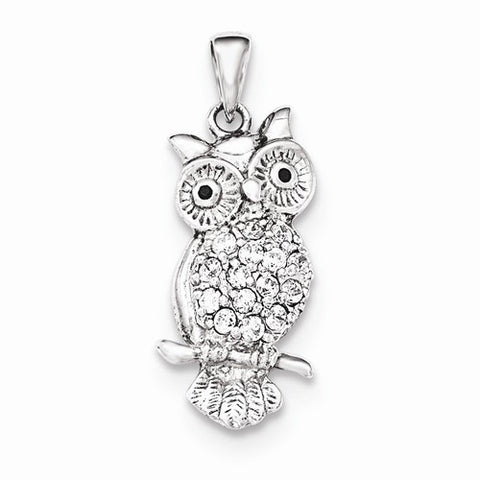 Wide Eyed Owl Pendant