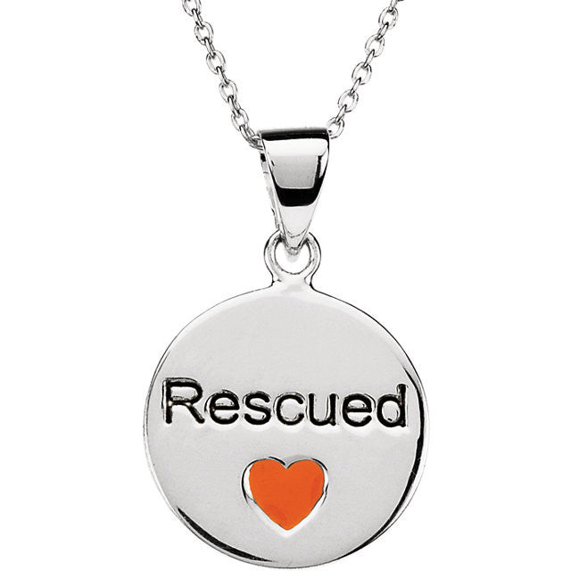 Rescue Pendant with Chain