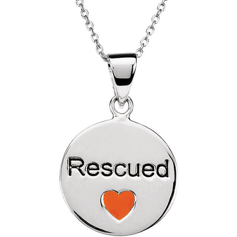 Rescue Pendant W/Chain