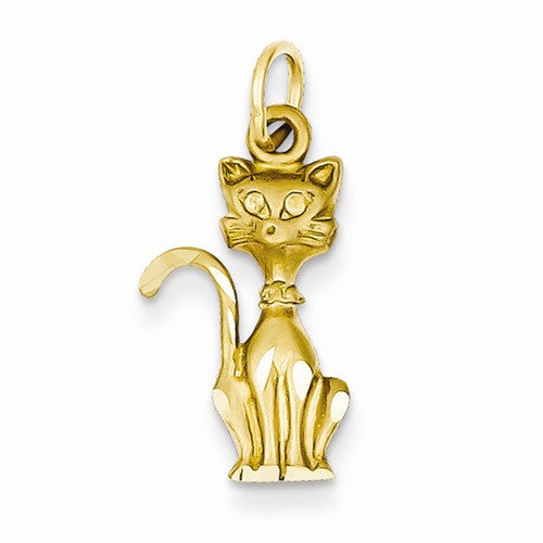 14k Tom Cat Charm / Pendant