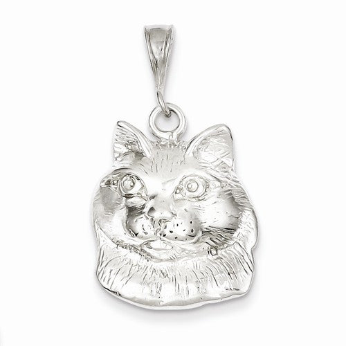 Close Up Cat Face Charm
