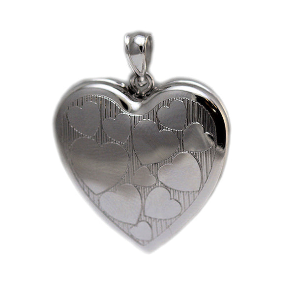 Cremation Ash Holder Locket W Picture Forever In My